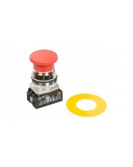 Przycisk bezpieczeństwa 30mm 1Z 1R IP56 przez obrót W0-NEF30-DRP XY C
