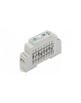 Przekaźnik czasowy 1P 5A 0, 01sek-100h 24-240V AC/DC wielofunkcyjny RTx-410 2610391