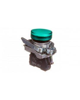 Lampka sygnalizacyjna 22mm zielona 110-120V AC/DC XB4BVG3