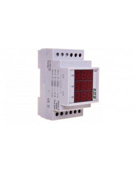 Amperomierz 3-fazowy cyfrowy modułowy 0-40A dokładność 0, 5% DMA-3 40/5A True RMS