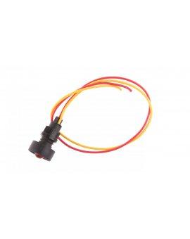 Lampka sygnalizacyjna średnica klosza 10mm czerwona 12-24V AC/DC KLP 10R/24V 84410001