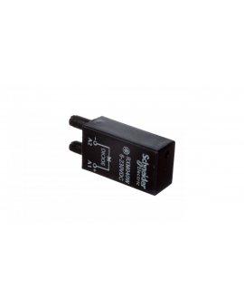 Moduł zabezpieczeniowy diode 6-250V AC do gniazda miniaturowego RXM RXM040W
