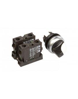 Przełącznik 3 położeniowy pokrętło 22mm czarny 2Z bez samopowrotu M22-WRK3/K20 216520